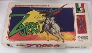 Zorro Clementoni Board Game Nouveau fonds Perfect Warehouse