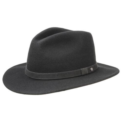 Stetson Yutan Wool Felt Fedora Hat