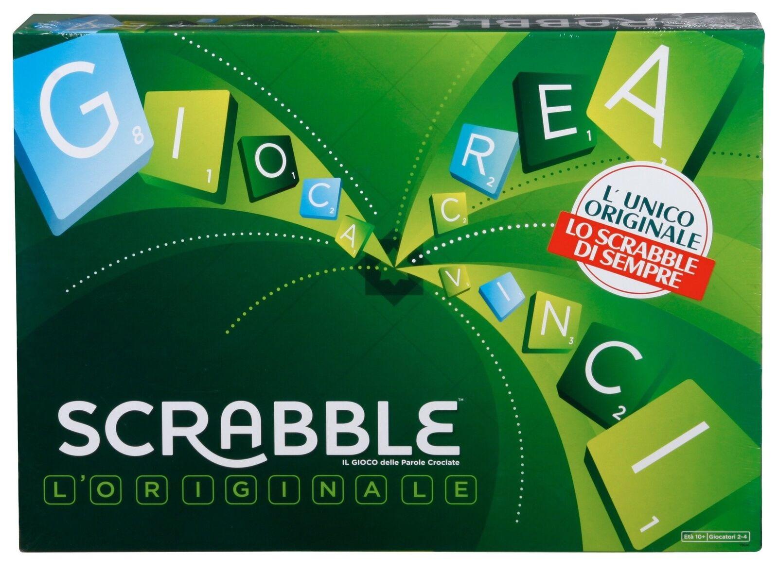 Desconocido Mattel Y9596–Scrabble Il Gioco Delle Parole CROCIATE