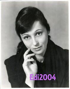 LUISE-RAINER-Vintage-Original-VanDAMM-RARE-Photo-034-CINDERELLA-034-amp-Autograph-Card