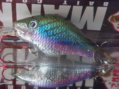 Mann/'s 15 Go2 Plus Series Cast//Trolling Lure GT4-7 in CRYSTAL RAINBOW for BASS