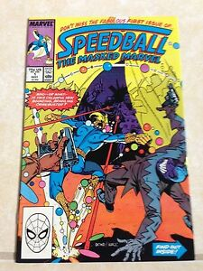 Speedball-The-Masked-Marvel-1-October-1988-Steve-Ditko