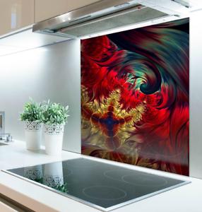 60cm x 70cm Digital Print Glass Splashback Heat Resistant Toughened 126116043