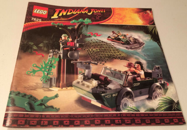 Lego Indiana Jones River Chase 2day Delivery Ebay