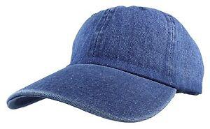 Gelante Plain denim Adjustable Baseball Caps Jean Dad Hats Wholesale ... 8c8bfc8525a