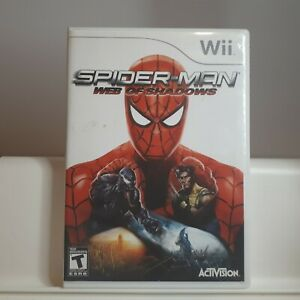 Spider-Man-Web-of-Shadows-Nintendo-Wii-Authentic-Cleaned-Tested