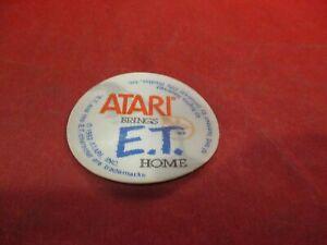 E.T. The Extraterrestrial Atari Promotional Lenticular Flicker Sticker 1982