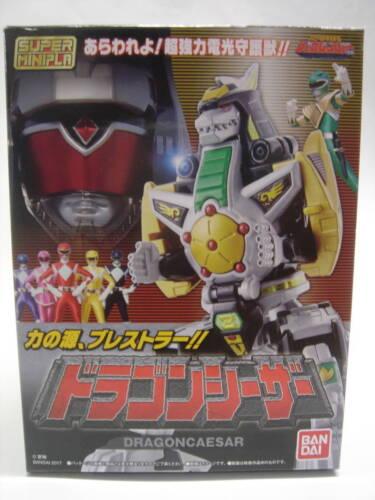 Bandai Dragon Caesar Dragonzord Super Minipla Kyoryu Sentai Zyuranger Model New