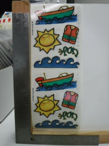 PROVO CRAFT SUMMER FUN BOAT SUN STICKERS NEW A24471