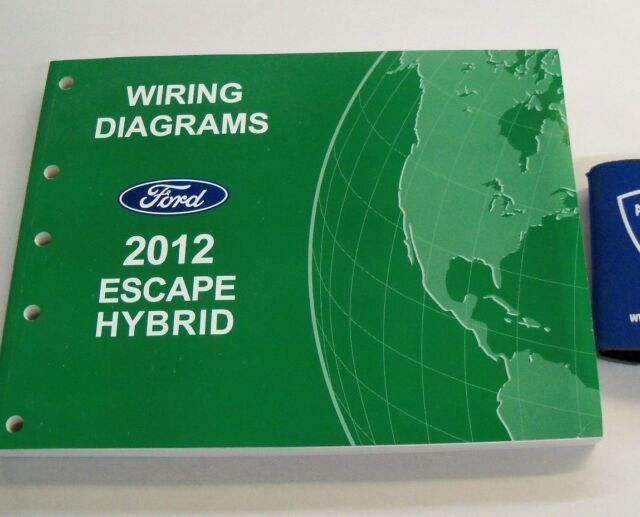 2012 Ford Escape Hybrid Electrical Wiring Diagrams