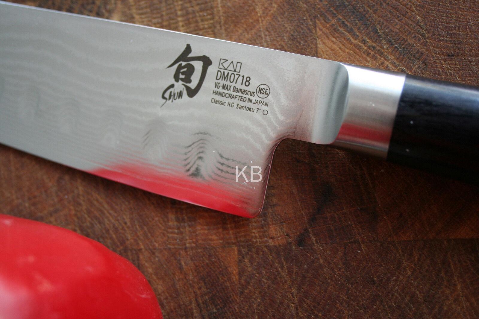 Kai dm-0718 Chun Classic santokumesser 18 CM