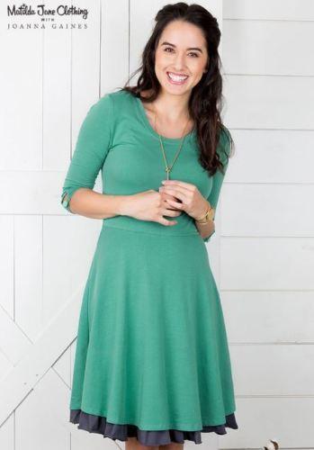 Matilda Jane Grün Pastures Dress damen Größe Small Joanna Gaines NWT New
