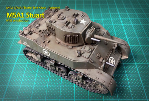 Rubicon 280024 P3 M8 Scott//M5A1 Stuart 1//56 scale