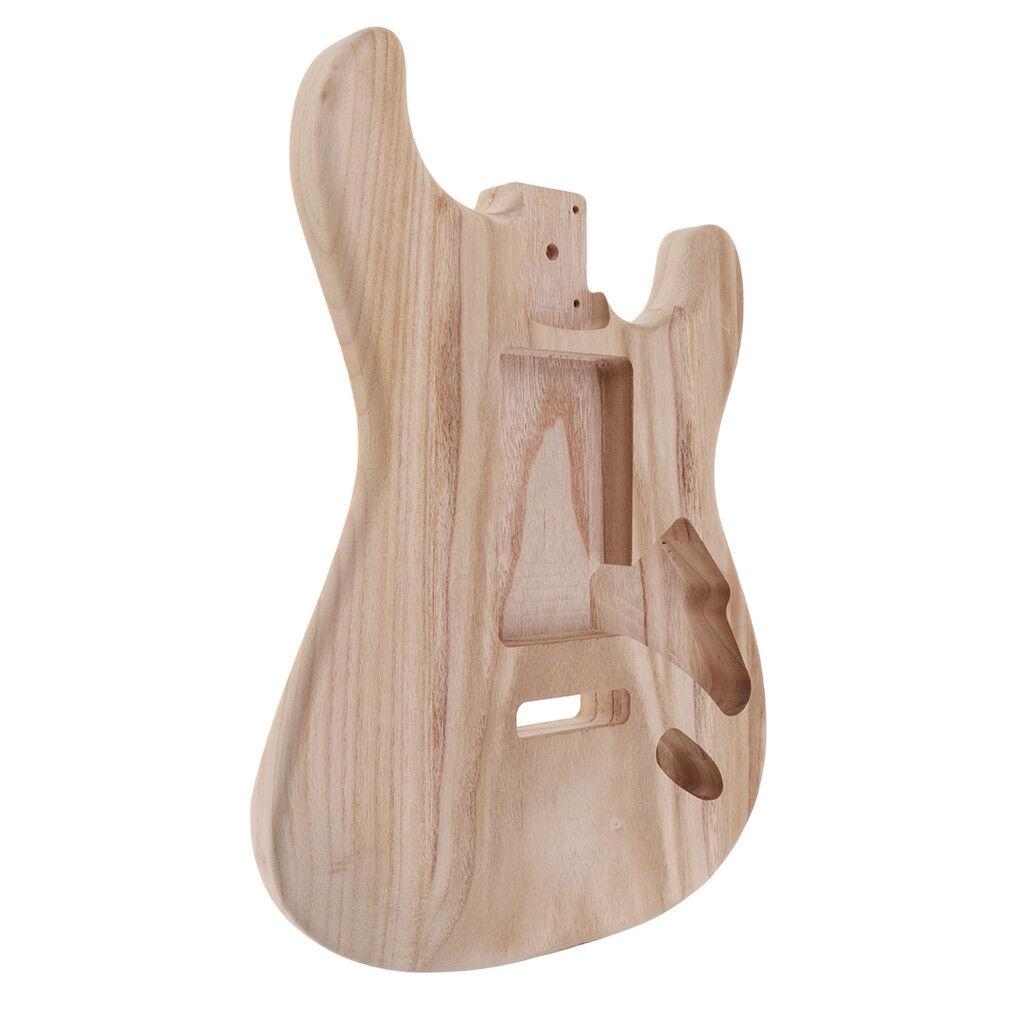 A mano sanding e Guitarra reemplazo Unfinished Unfinished Unfinished body Guitar DIY accesorios,