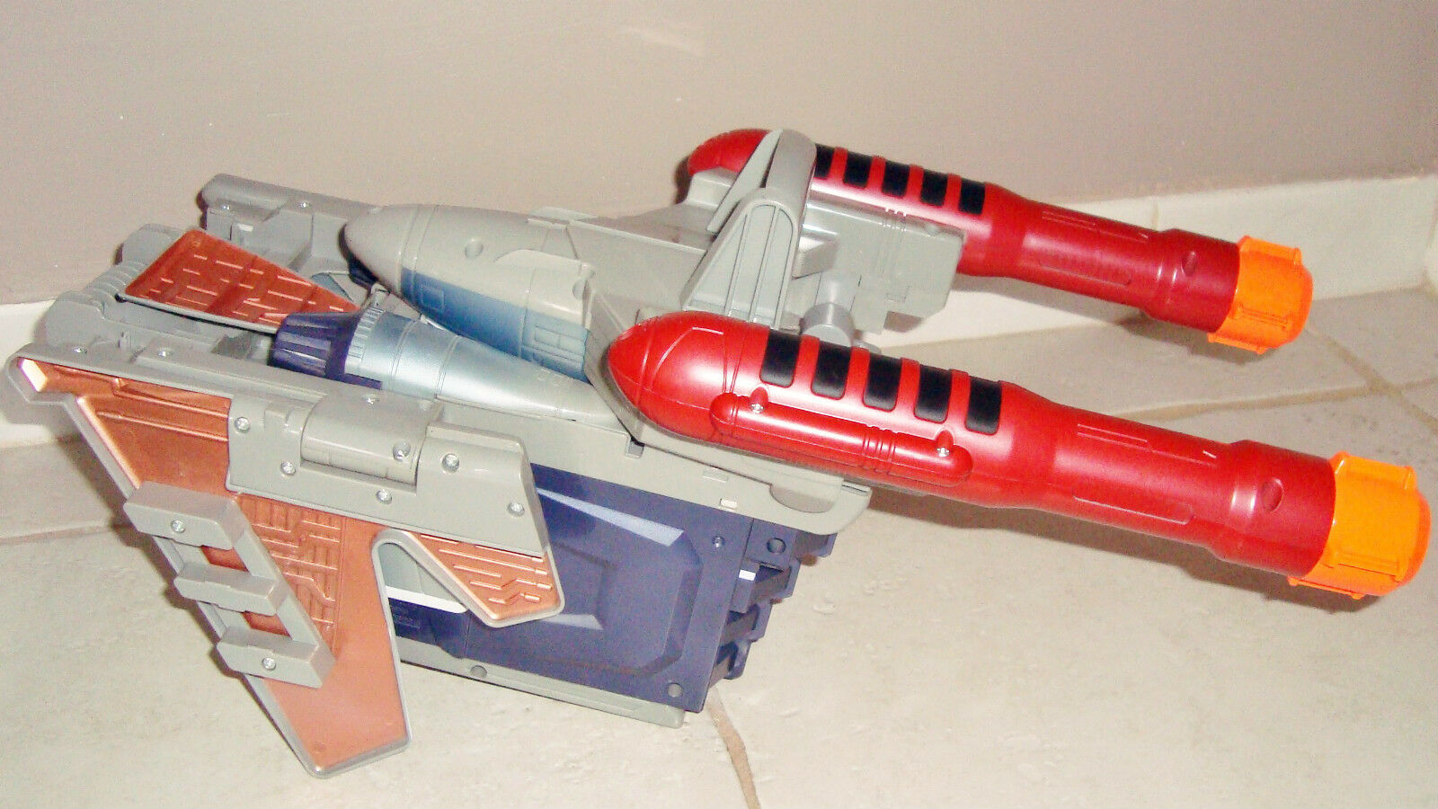 Huge Huge Huge Aircraft Fighter Transformers Decepticon Is Transforms in Gun Gun 4bd20c