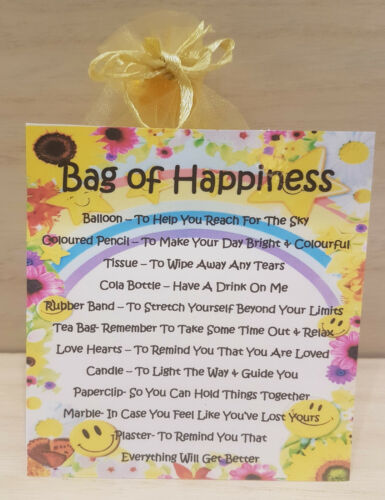 Unique Fun Novelty Gift /& Card All In One Bag of Happiness