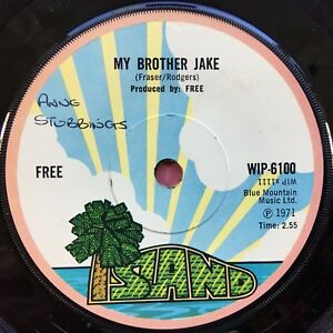 Free-My-Brother-Jake-Only-my-Soul-Island-WIP-6100-VG-Condition