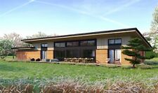 2140 Sqft Eco Solid Timber Airtight Panel House Kit Mass Wood Clt Home Prefab