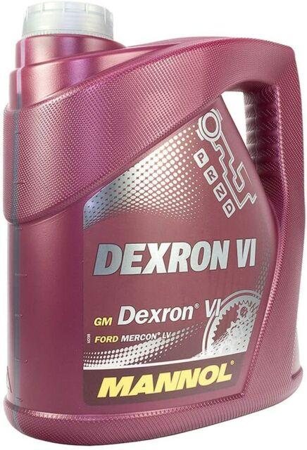 Mannol Dexron VI Automático Aceite Motor para Opel , MB 236.14 4L