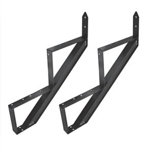 Tiertreppe Aluminium Treppenrahmen 2 - 6 Trittstufen