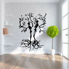 Fancy Couple Tree Wall Stickers Removable Vinyl Decals Art Mural DIY Home Decor
