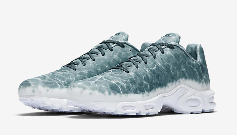 Nike Lab Air Max Plus GPX SP 8.5. Swimming Pool 899595-300 Teal White Le Requin