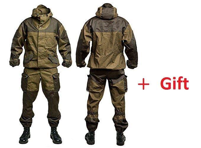 Traje De Invierno Gorka 3 Tienda Ejército De Algodón 100%, caza y pesca, Airsoft