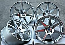 "18"" CRUIZE Z1 ALLOY WHEELS SILVER DIAMOND CUT MULTISPOKE 5X108 18 INCH ALLOYS"