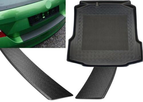 Set Kofferraumwanne Ladekantenschutz für Audi Q7 4L 2005-2015 Schienensystem