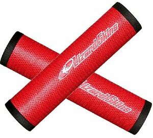 LIZARD-SKINS-DSP-MOUNTAIN-BIKE-HANDLEBAR-GRIPS-30-3-130MM-RED-DSPGR050-W