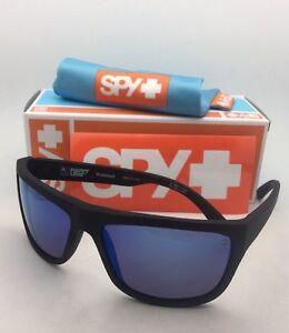 0f9f03b77f5 Polarized SPY OPTIC Sunglasses ANGLER Soft Matte Black w Bronze Lens ...