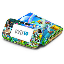 Skin Decal Cover for Nintendo Wii U Console & GamePad - New Super Mario Bros. U