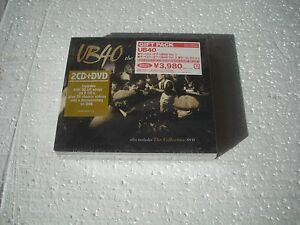 UB40-THE-BEST-OF-vol-1-2-2cd-dvd-JAPAN-CD-SEALED-disc-made-in-Germany