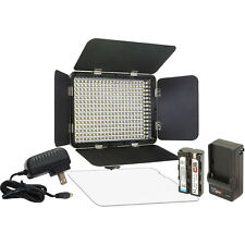 Vidpro Variable-Color On-Camera LED Video Light Kit #LED-330X