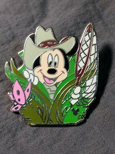 Disney-Pin-Cast-Lanyard-Series-Hidden-Mickey-Safari-Butterfly-Wilderness-2005
