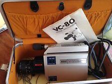 Akai VC-80E Color Video Camera Portable Camera In Case