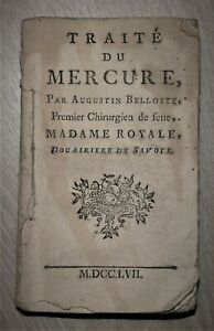 Augustin-BELLOSTE-TRAITE-DU-MERCURE-1757-Instruction-usage-des-Pilules-Belloste