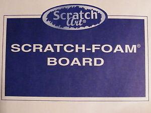 Image Is Loading Scratch Foam Boards By Art Easy Printmaking