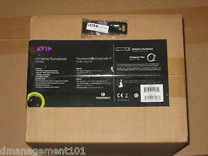 Details about Avid HD Native Thunderbolt w/Pro Tools 10/11HD Trial **Brand  New in Sealed Box**