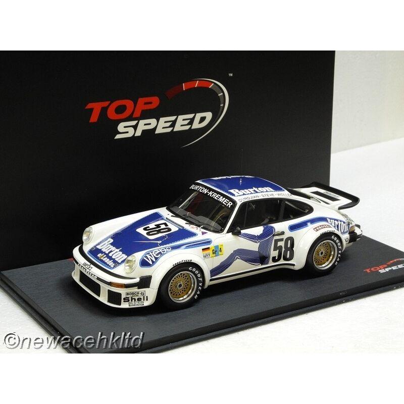 Porsche 934 Le Mans velocidad superior Modelo 1 18  TS0057