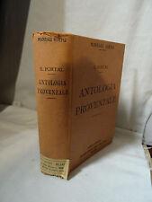 E. Portal - Antologia provenzale  - Manuali Hoepli Milano 1911