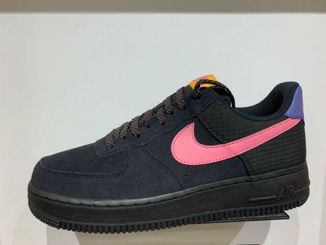 Nike Air Force 1 LV8 Matte Black n Teal Custom