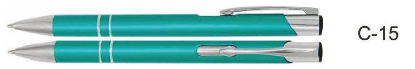 Kugeleschreiber Metallkugelschreiber mit Gravur - graviert - Aquamarin matt | Feinen Qualität  | Reichlich Und Pünktliche Lieferung  | Spielzeugwelt, fröhlicher Ozean
