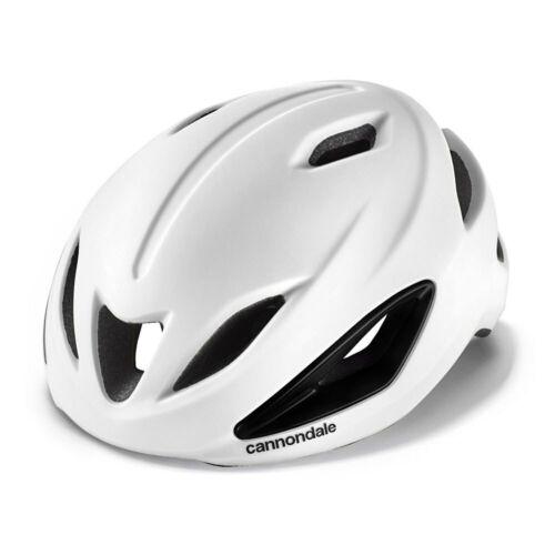 CANNONDALE INTAKE ROAD GRAVEL BIKE BICYCLE HELMET 54-58CM WHITE NEW FREE UK P/&P