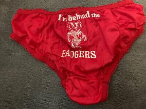 Wisconsin Badger Panties Gif