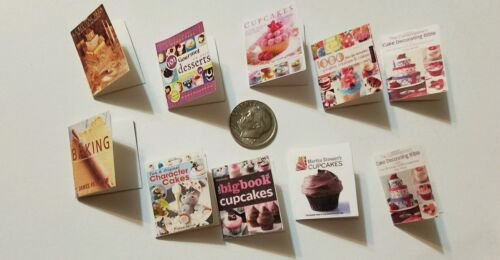 Miniature dollhouse Betty Crocker Cook Book Barbie 1//12 Scale accessories B