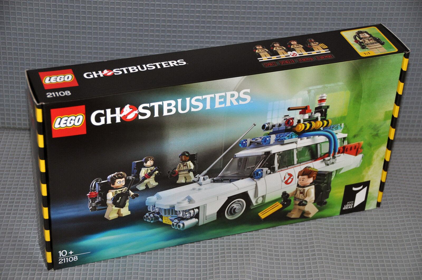 LEGO® 21108 Ideas Cuusoo™ Ghostbusters Ecto-1 Mobil Fahrzeug 4 Figuren NEU OVP