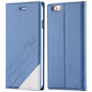 Fashion-Wallet-Flip-PU-Leather-Cover-Full-Protection-Case-for-iPhone-5-5S-SE-Blu