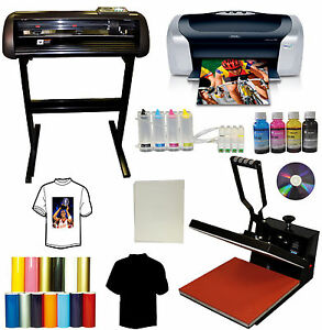 15x15 Heat Press 24 Quot Metal Vinyl Cutter Plotter Printer