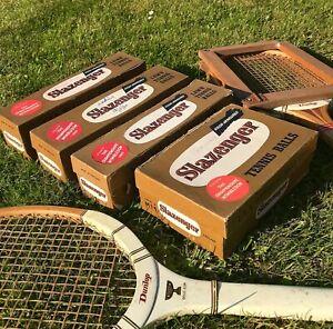 1960s Wimbledon Tennis Balls x 18 in original boxes